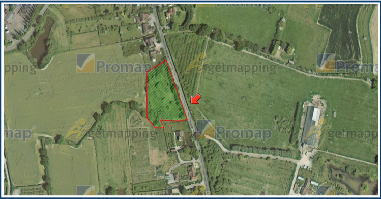 Land adjacent to Little Cornwells, Goudhurst Road, Marden TN12 9LT